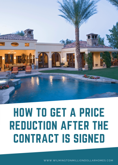 How to Get a Price Reduction After the Contract is Signed